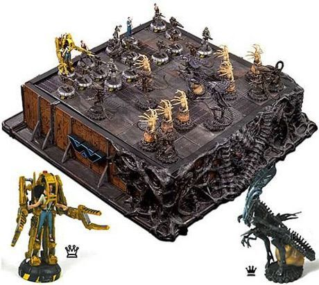 Google Image Result for http://www.neatorama.com/wp-content/uploads/2011/03/movie-chess-board.jpg  Alien chess set
