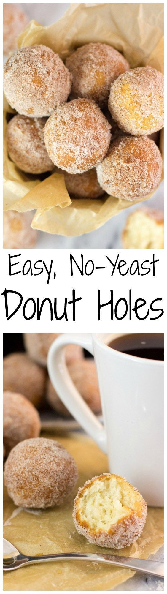 Easy, no yeast, fried donut holes