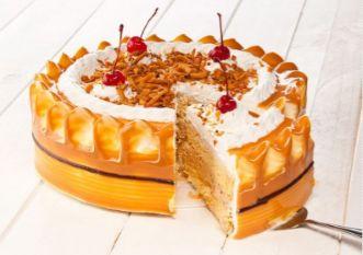 Torta refrigerada coco arequipe