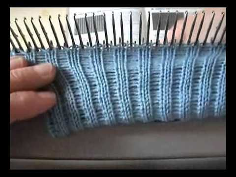 How to knit ribbing on the knitting machine without a ribber attachment. http://myknittingmachinesandme.wordpress.com