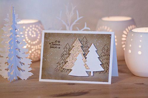 Karte, Weihnachten, O Tannenbaum, Christmas, basteln, stampin, https://www.facebook.com/Colorspellkarte_xmas_07_01