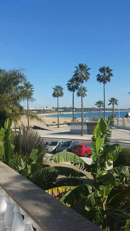 View of the beach in Rota, Spain!