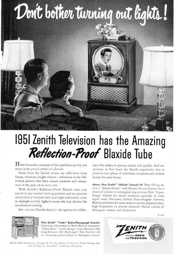 Zenith Television, 1951.