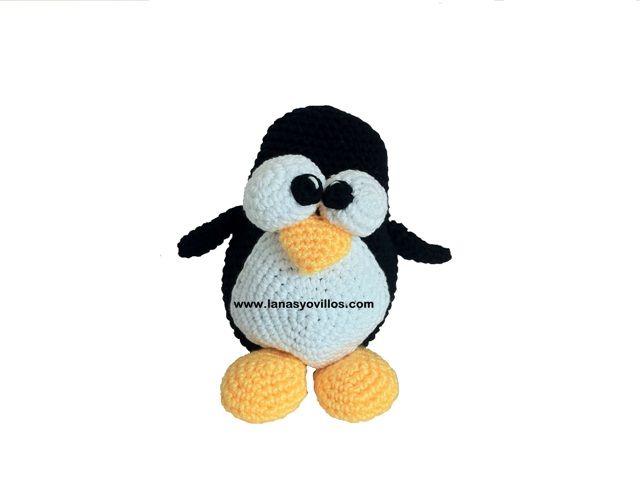 Amigurumi Linux Penguin : 1000+ images about Amigurumis crochet on Pinterest Free ...