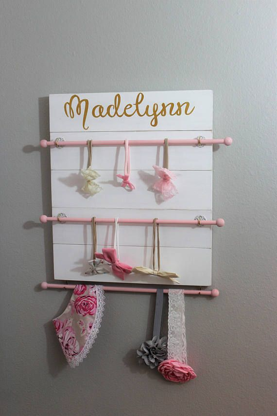Headband Holder Headband Organizer Baby girl headband Baby