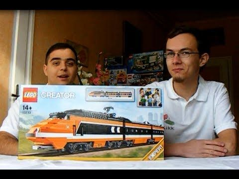 Exclusive KLIKK review - 10233 Horizon Express #LEGO #train #TGV #exclusive