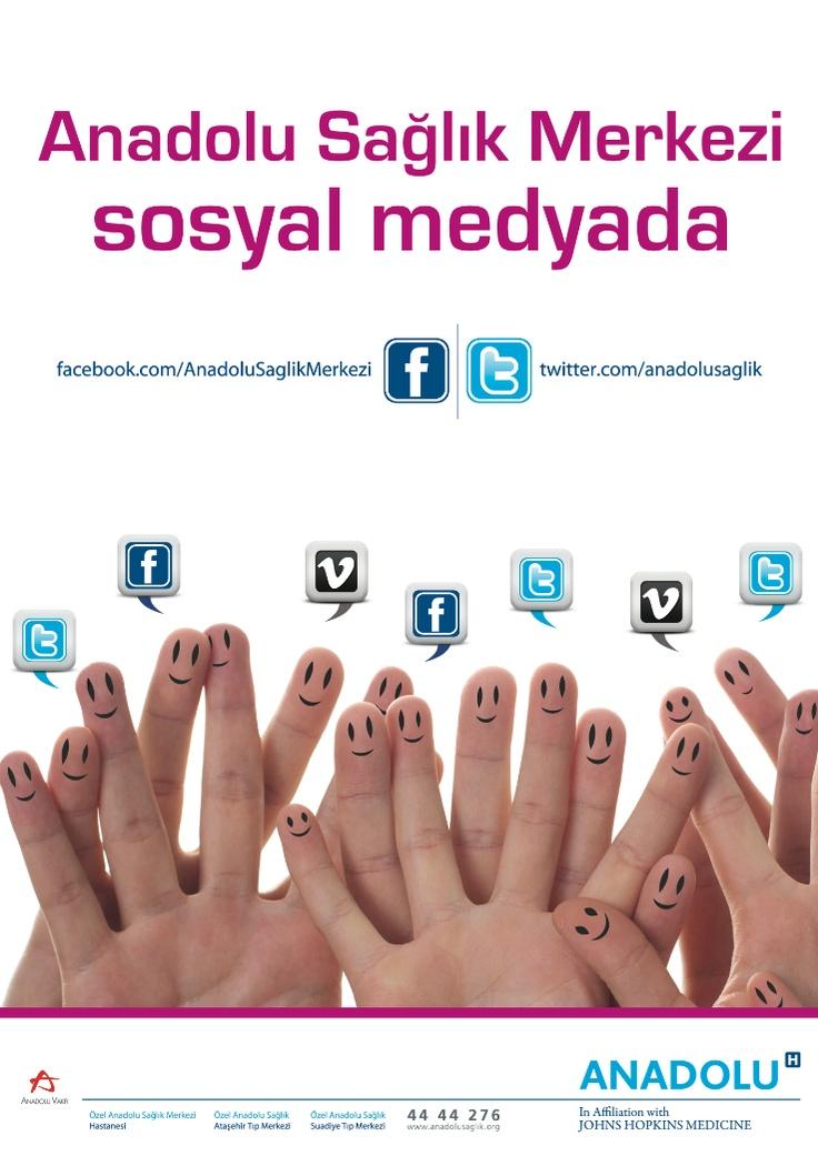 Bizi Facebook ve Twitter' dan da takip edebilirsiniz