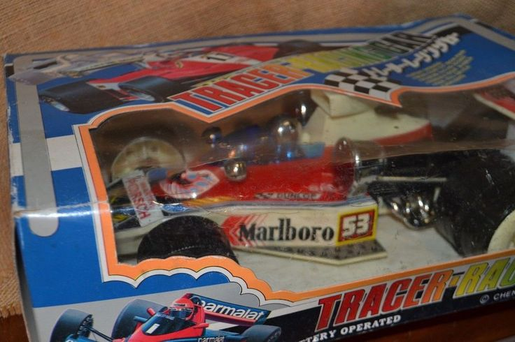 Giocattolo d'epoca F1 TRACER RACING CAR Cheng Ching Toys 1987 CS-753