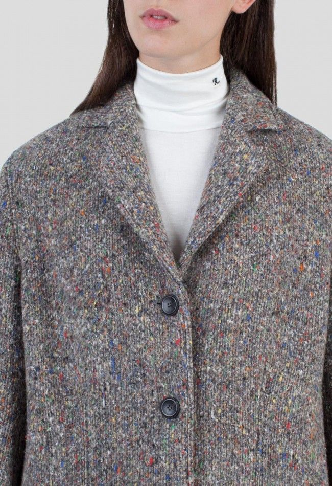Acne Studios Tessa Trash Dk Coat Dark Multi – Voo Store