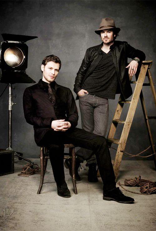 Ian Somerhalder and Joseph Morgan - Winter TCA 2015