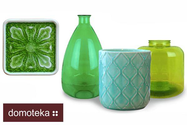 Szukasz zielonych dodatków do mieszkania? To już je masz. Zajrzyj do salonu HOUSE&more i zagraj w zielone.