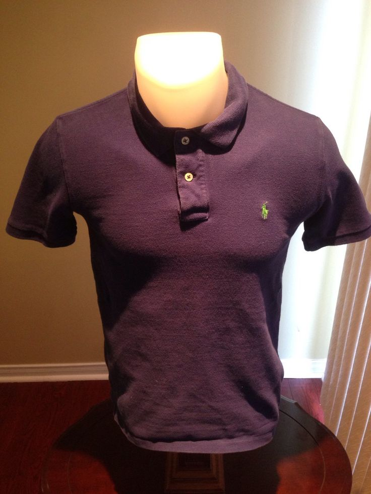 New to MajorDivision on Etsy: Vintage Blue Short Sleeve Polo By Ralph Lauren Polo (15.00 CAD)