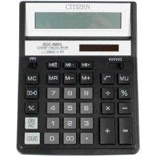 Asztali nagy számológép 1 2 karakteres Citizen SDC-888XBK Ft Ár 4,329 Nagy asztali számológép 1 2 számjegyes Citizen SDC-888XBK 12 digites (számjegyes) nagy asztali számológép döntött, nagyméretű egysoros LCD kijelzõvel. Áramellátás: elem + nagyteljesítményű napelem. automatikus kikapcsolás [8 perc] Méret: 158 x 200 x 30 mm. Citizen SDC-888XBK Nagy számológép