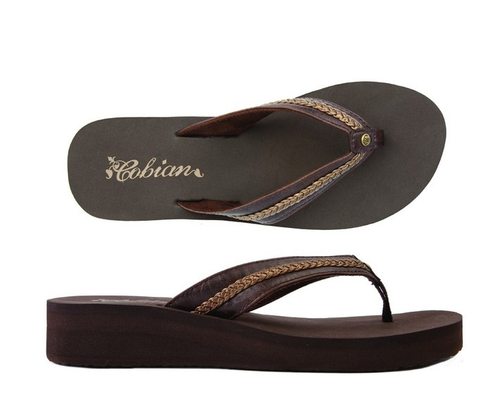 Cobian Sandals Women's Super Bounce Chocolate  Sandals Flip Flops. These are the BEST Ever!!!