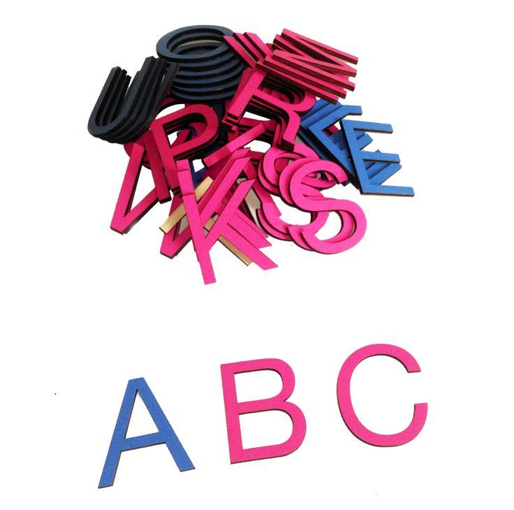 Malá pohyblivá abeceda - velká tiskací písmena, varianta ekonomy