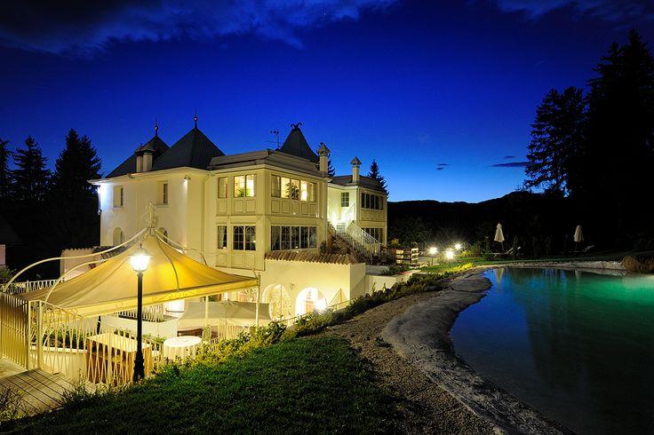 a Villa Orso Grigio ***** anche la notte ha il suo fascino .....