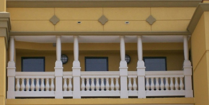 Barrel Column Covers Fiberglass Balustrade