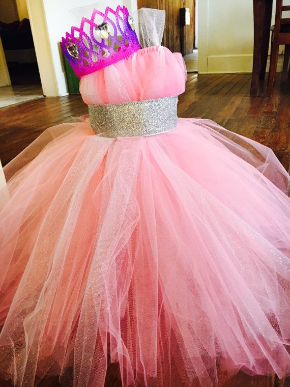Disfraz de princesa rosa por TwinkleStarsBoutique en Etsy