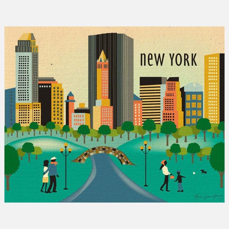 Fab.com | Central Park Print