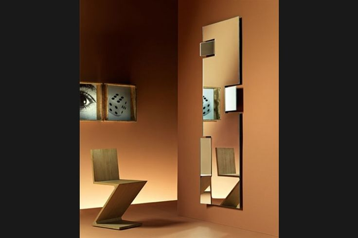 Design Spiegel HIROSHI | FIAM | Italian design | GlazenDesignTafel.nl | Design by  Marta Laudani & Roberto Romanelli | Interior design | vidre glastoepassingen, Leiden