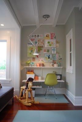 Wall Desk- closet desk idea