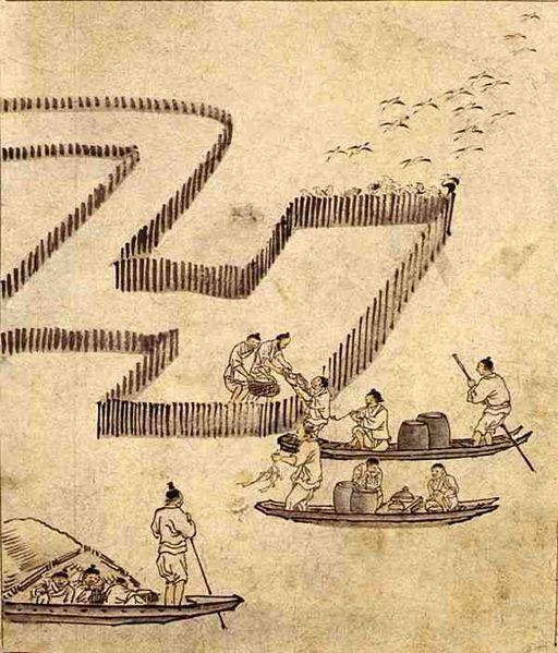 Danwon (Korean: 1745-1806) - Fishing