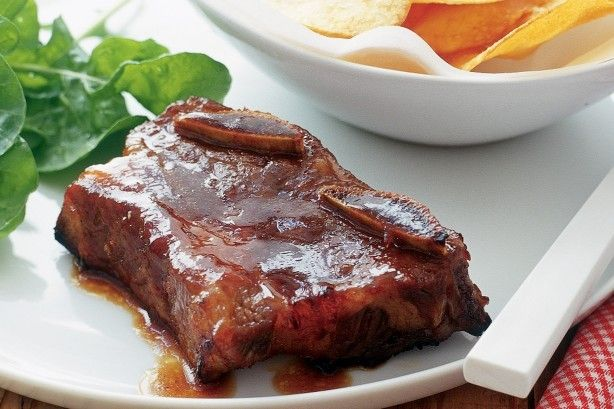 No one can resist licking their fingers after eating these sweet, sticky and spicy barbecue beef ribs