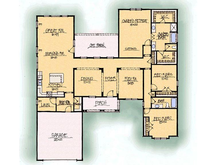 43 best house plans images on pinterest floor plans for Schumacher homes catawba