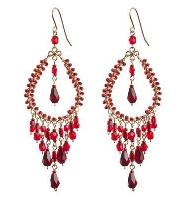Elegant chandelier earrings. Craft ideas from LC.Pandahall.com
