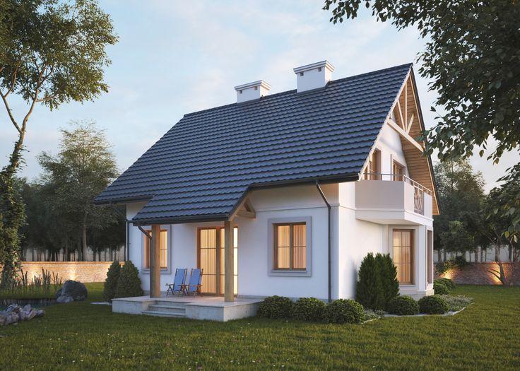K&596 Projekt tradycyjnego domu jednorodzinnego, parterowego z poddaszem użytkowym i piwnicą, idealny dla rodziny cztero - lub pięcioosobowej. Na 108 m2 zaplanowana została bardzo funkcjonalna przestrzeń. Więcej na: http://lk-projekt.pl/lkand596-produkt-627.html