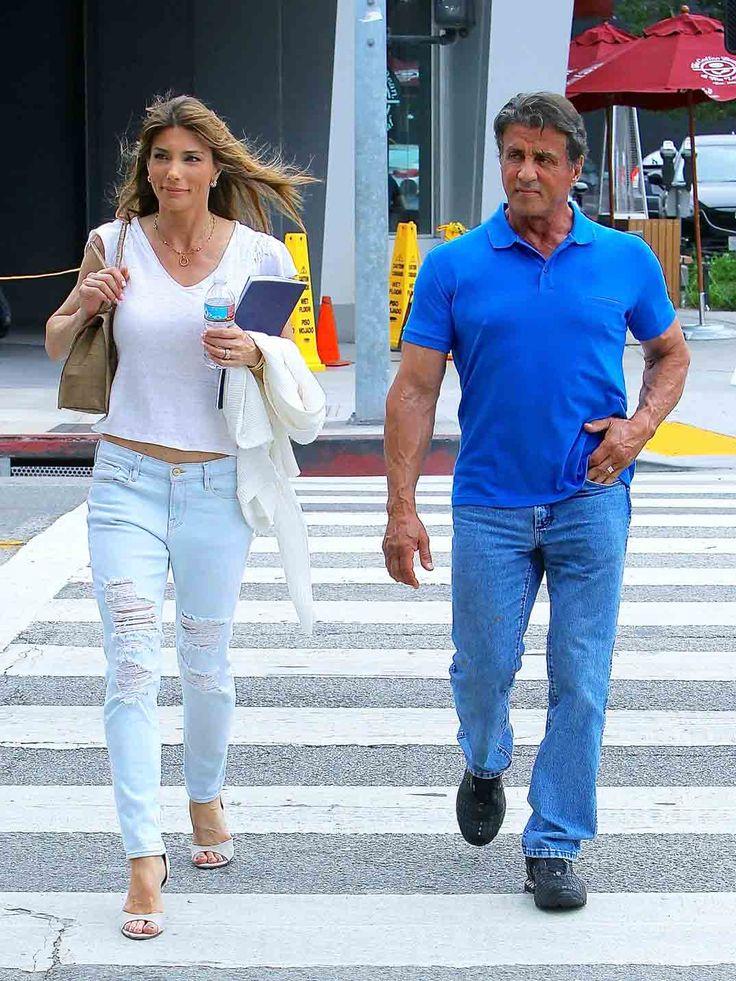 Sylvester Stallone y Jennifer Flavin 2015