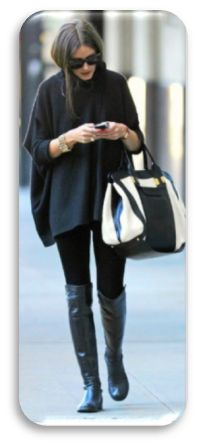 Love the satchel Olivia Palermo is carrying.