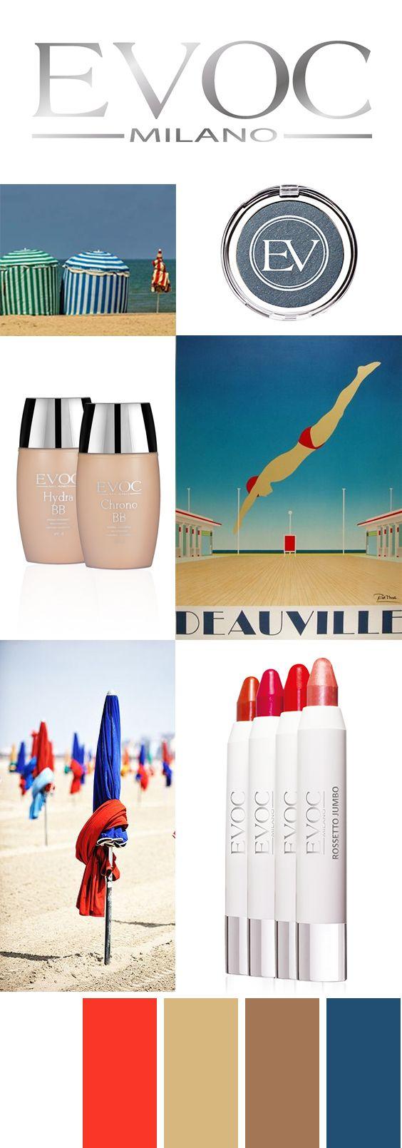 #bonvojage #deauville #sea #bbcream #rossetto #lipstick #ombretto #blu #rosso #viso #lips #eyes #occhi #evocmilano