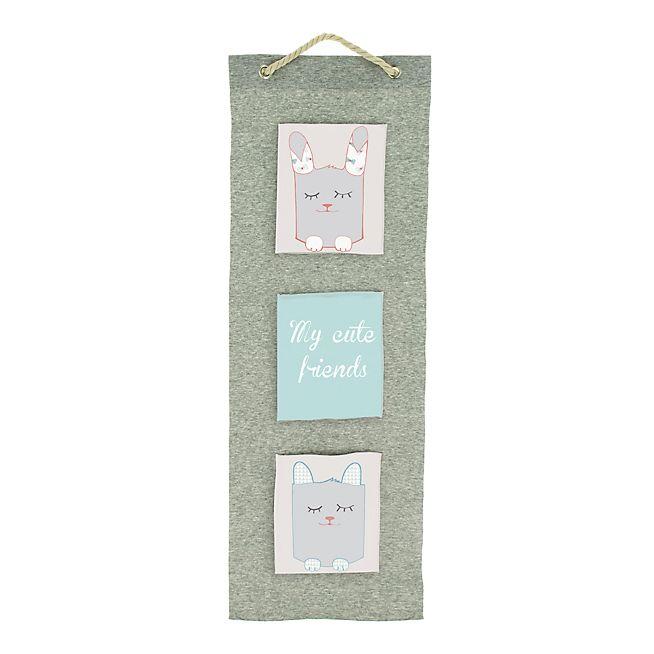 Cute Vide-poche en coton 30x90cm pour enfant
