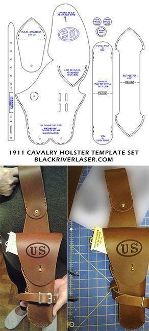 1911 .45 CAL. ARMY CAVALRY HOLSTER TEMPLATE SET FOR LEATHER CRAFTERS  - NEW ITEM | Bastel- & Künstlerbedarf, Lederbearbeitung, Lederbearbeitung - Werkzeug | eBay!