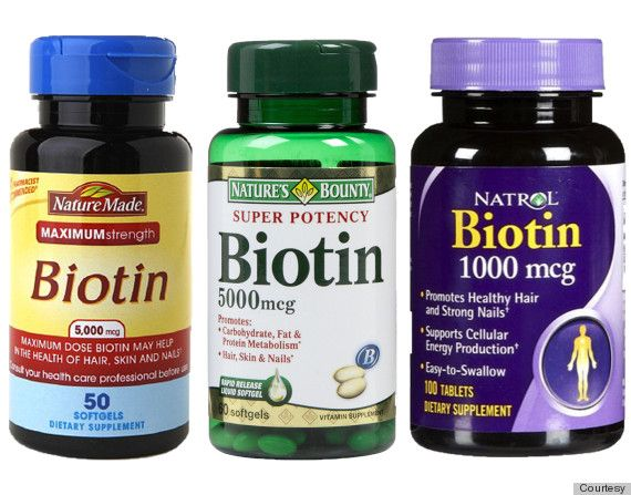 If you're taking biotin, Dr. Stuart suggests looking out for these possible signs of biotin overdose: slower release of insulin, skin rashes, lower vitamin C and B6 levels, and high blood sugar levels.