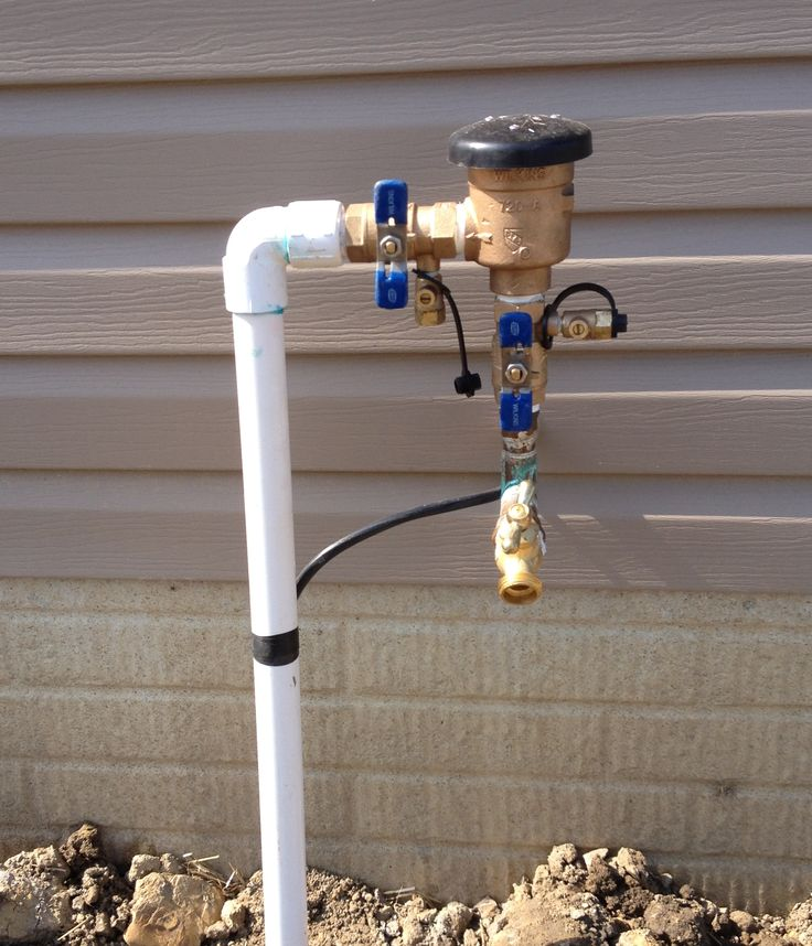 14 Best Lawn Irrigation Installation Images On Pinterest Lawn Irrigation Sprinklers And Head To