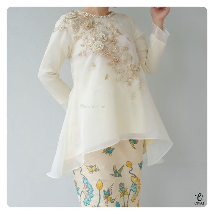 "1,137 Likes, 209 Comments - EIWA - kebaya bajubodo organza (@eiwaonline) on Instagram: ""✂️MBM - PO AVAILABLE✂️ TOP0657 (soft yellow) Size XS to XXL Bust 86 to 112cm Sleeve 50cm Length…"""