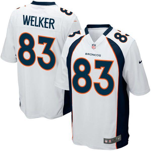 Wes Welker Denver Broncos Nike Game Jersey - White - $49.99