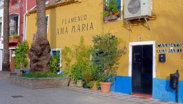 Tablao Flamenco Ana Maria, Marbella - Tablao Flamenco Ana Maria is located in Marbella Old Town and is a fantastic venue for a night out watching traditional Flamenco ...