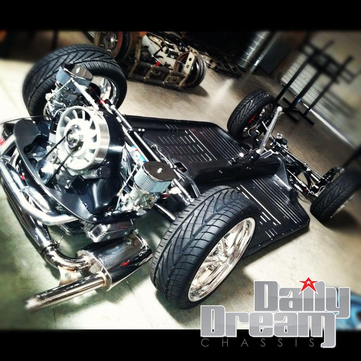 Porsche 911 Engine Vw Beetle: Daily Dream Chassis