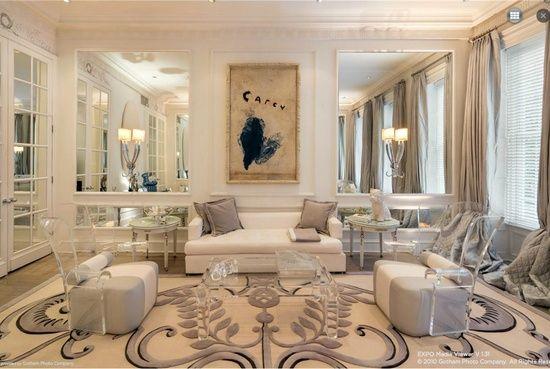Geoffrey Bradfield interior design pictures   Interior Designer Geoffrey Bradfield's Upper East Side townhouse is ...