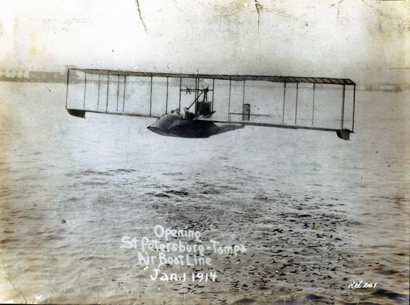 First Commericial Flight