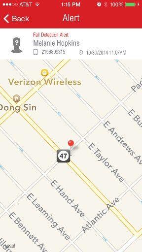 Better Alerts Caregiver App GPS Locator