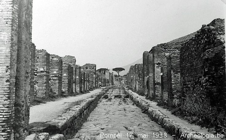 | Pompéi 17 mai 1938 - Archeologia.be