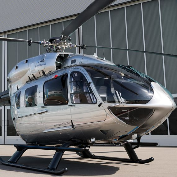My Mercedes-Benz Luxury Helicopter Just had to add this one, I love it...I know not a car or truck :)