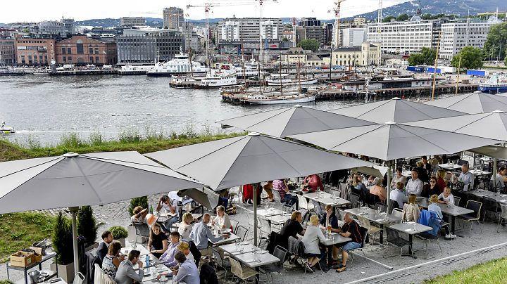 Restaurantanmeldelse av Festningen: Ekte sommermat for pengene