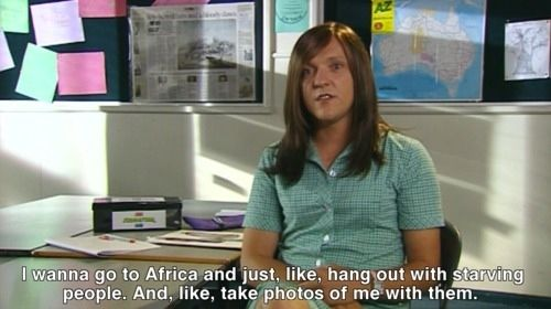 When she wanted to help the less fortunate:   22 Times Ja'mie King Was The Most Real And Inspiring Person On Television