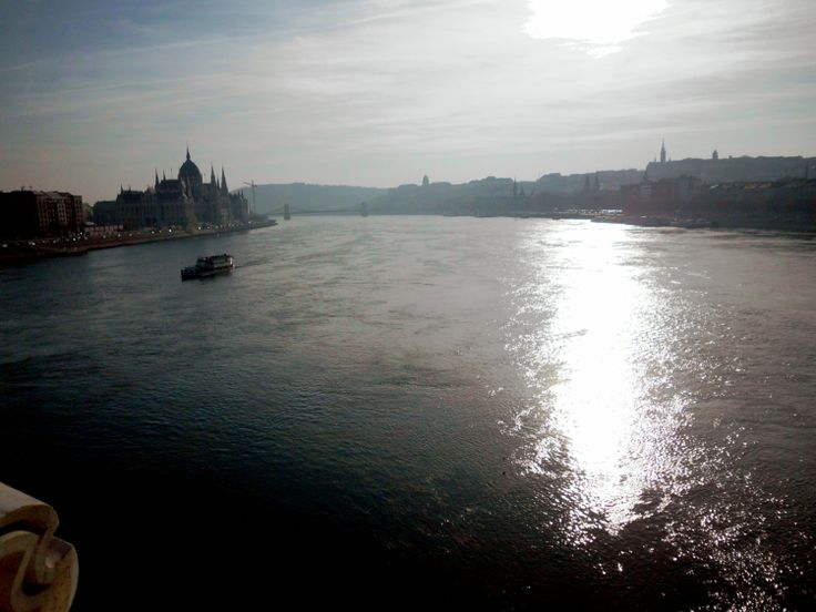 The Danube. View from the Margit híd.