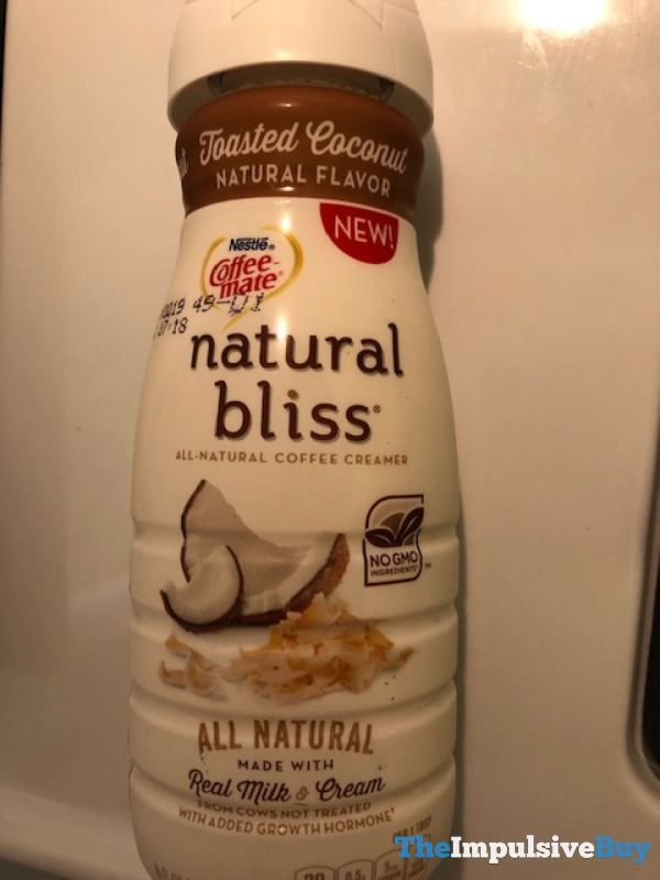 Nestle Coffee Mate Natural Bliss Toasted Coconut Creamer